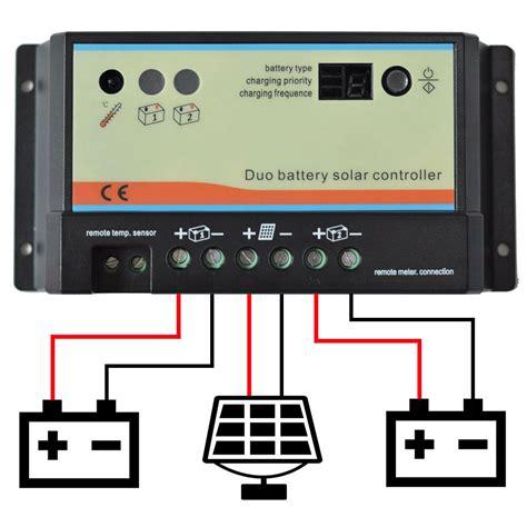 Epsolar Dual Battery Solar Panel Charge Controller