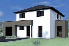 Images for maison cube toit 4 pans www.desktophddesignwall3d.ga