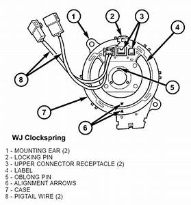 1999 Jeep Grand Cherokee Clock Spring Wiring Diagram