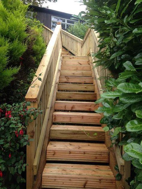 escalier de jardin 224 faire soi m 234 me en 49 id 233 es de conception