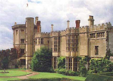 Thornbury Castle, Glocestershire, was begun in 1511 as a