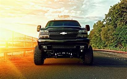 Jacked Chevy Trucks Duramax Lifted Lowered Wallpapers