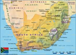 George South Africa Map