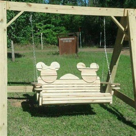 mickey and minnie outdoor swing set neat diy crafts