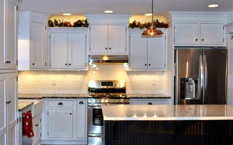 garland above kitchen cabinets garland above kitchen cabinets garland on plant shelves 3735