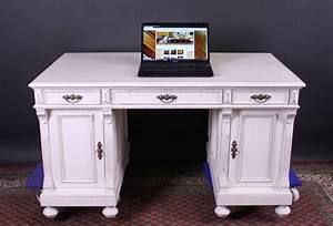 Schreibtisch Shabby Chic Look : restaurierter schreibtisch shabby chic kohler ~ Lizthompson.info Haus und Dekorationen