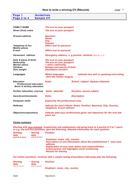 How To Write A Cv by How To Write A Cv Fotolip Rich Image And Wallpaper