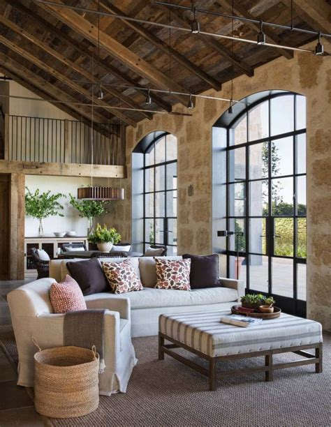Timeless Interiors With Character by California Wine Country Farmhouse Designed With Timeless