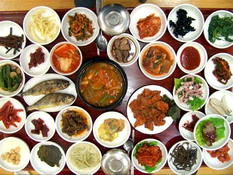 photos cuisine 30 side dishes on the table maangchi com