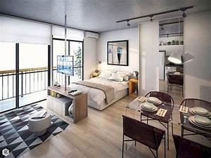 51, Best, Studio, Apartment, Bedroom, Decor, Ideas