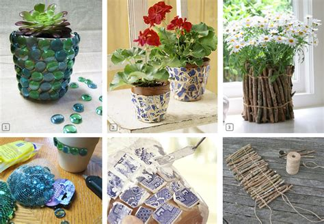 pot de fleur original diy how to customize terracotta pots bnbstaging le