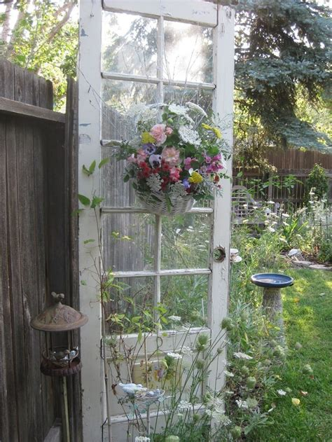 shabby chic outdoor outdoor shabby chic creative uses for old doors windows pintere