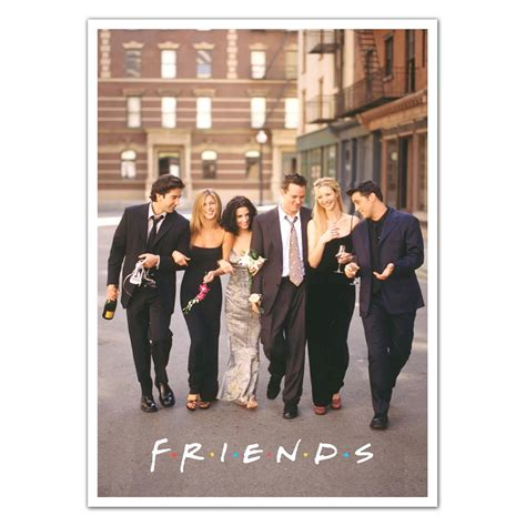 Buy FRIENDS TV Show Poster Online India   Buy TV Shows Posters   Posterduniya.com