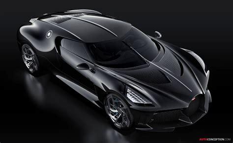 One-Off Bugatti 'La Voiture Noire' is Most Expensive New ...