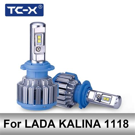 Lada H7 Led by Aliexpress Buy Tc X Only For Lada Kalina Hatchback