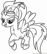 Coloring Pages Pony Misty Fly Drawing Horse Ddlg Friendship Mlp Magic Colouring Crystal Coloringpages101 Burning Wood Unicorn Pdf Uploaded User sketch template