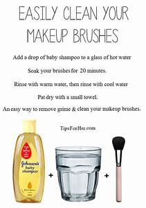 HOW TO CLEAN MAKEUP BRUSHES!