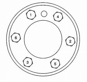 Flywheel  Crank Flange Bolt Pattern