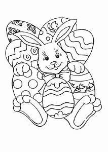 Coloriage De Paque : coloriage lapin paques 1 sur ~ Melissatoandfro.com Idées de Décoration