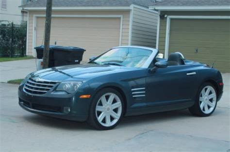 chrysler crossfire limited convertible  sale