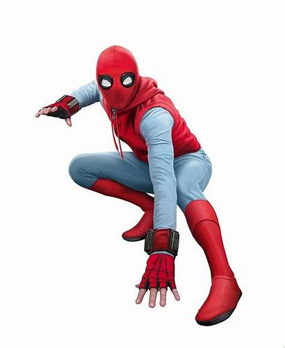 Suit Spiderman Spider Homecoming Marvel Homemade Costume