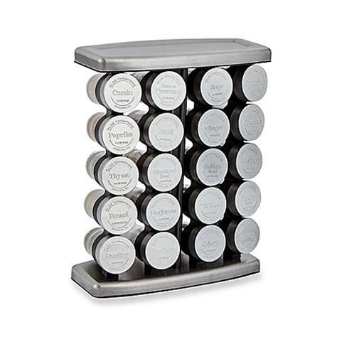 Spice Rack Olde Thompson by Olde Thompson 20 Jar Traditional Spice Rack Bed Bath