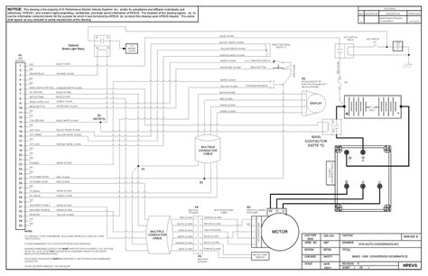 P B Wiring Diagram by Ev Conversion Schematic