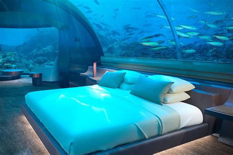 underwater hotel room in maldives hiconsumption