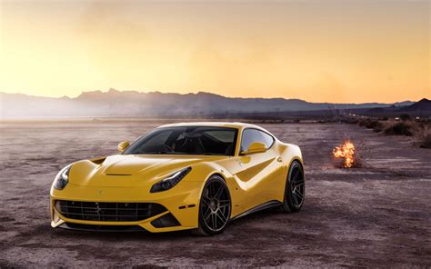 Ferrada Sema Yellow Ferrari Hd Wallpapers