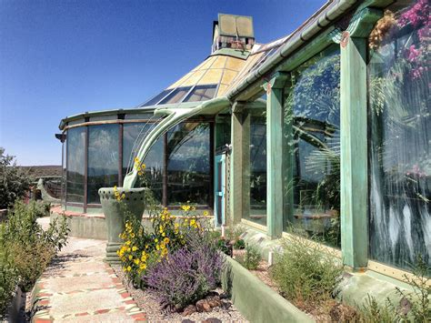 Inside The Earthships In The New Mexico Desert, Built To