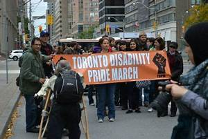 Join the 5th annual Toronto Disability Pride March ...