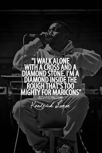 Kendrick Lamar ... J Diamond Quotes