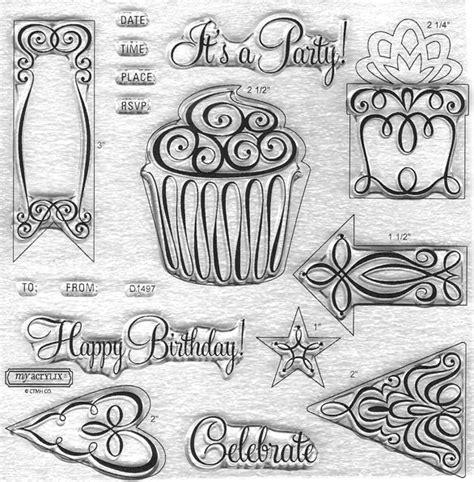 Ctmh  Cricut Art Philosphy Celebration (cricut Collection) Item No D1497  Stamps Pinterest