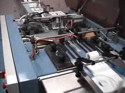 poly bag machine youtube