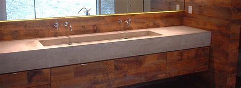 Bathroom Faucets Waterfall by Concrete Sink The Possibilities Are Endless