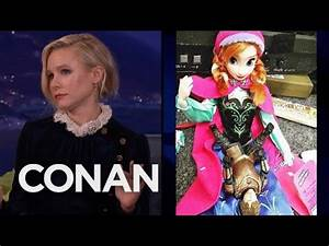 "Kristen Bell Got Filthy With Her ""Frozen"" Action Figure ..."