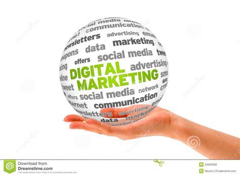 Marketing Free by Digital Marketing Stock Illustration Illustration Of