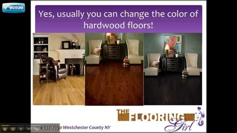 can you change the color of your hardwood floors gray