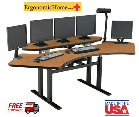 computer desk ergonomic design ergo computer desk best home design 2018