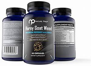 Horny Goat Weed  All Natural Male Enhancement Pills  Performance And Libido Booster For Men And
