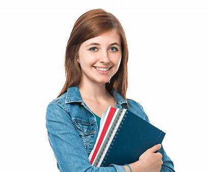 Student Female Transparent Background English Clipart Teens