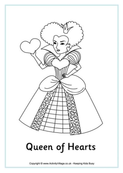 alice  wonderland colouring pages