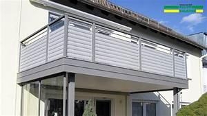 Sichtschutz Für Balkongeländer : balkongel nder alu ab 127 kaupp balkone ~ Markanthonyermac.com Haus und Dekorationen