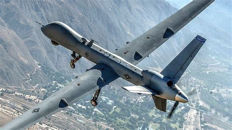 Air Force MQ-9 Reaper Drone Aircraft Soars Over California ...