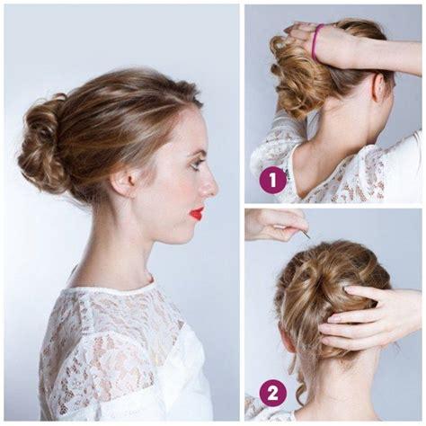 comment faire un chignon comment se faire un chignon flou tuto coiffure diy