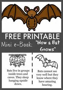 Halloween Books For Kindergarten Online by Free Quot How A Bat Grows Quot Printable Ebook Surviving A