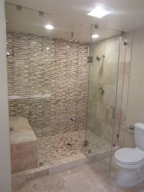 glass tile bathroom wall san diego frameless enclosure patriot glass and mirror