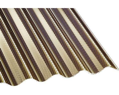 Acryl Wellplatte Sinus 7618 Wabe Bronze 4000x1045x3mm Bei