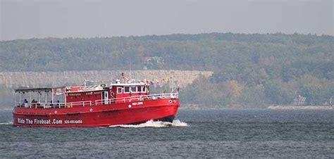 Fireboat Ride Sturgeon Bay by Door County Adventure Center Sturgeon Bay Wi Top Tips