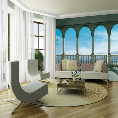 wall columns giant wallpaper mural columns